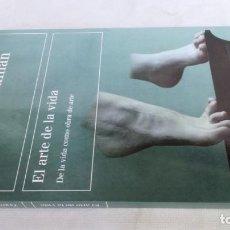 Libros de segunda mano: EL ARTE DE LA VIDA/ ZYGMUNT BAUMAN/ DE LA VIDA COMO OBRA DE ARTE/ PAIDOS. Lote 152378338