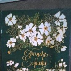 Libros de segunda mano: FONDA DE ESPAÑA. MANUEL GARCIA-MARTIN. CATALANA DE GAS 1991 PRIMERA EDICION. ILUSTRADO. . Lote 152398694