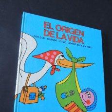 Libros de segunda mano: EL ORIGEN DE LA VIDA / ILUSTRADO - AL. PACINI / ED. EUROPA AÑO 1987 / TAPA DURA / SIN USAR. Lote 152430098