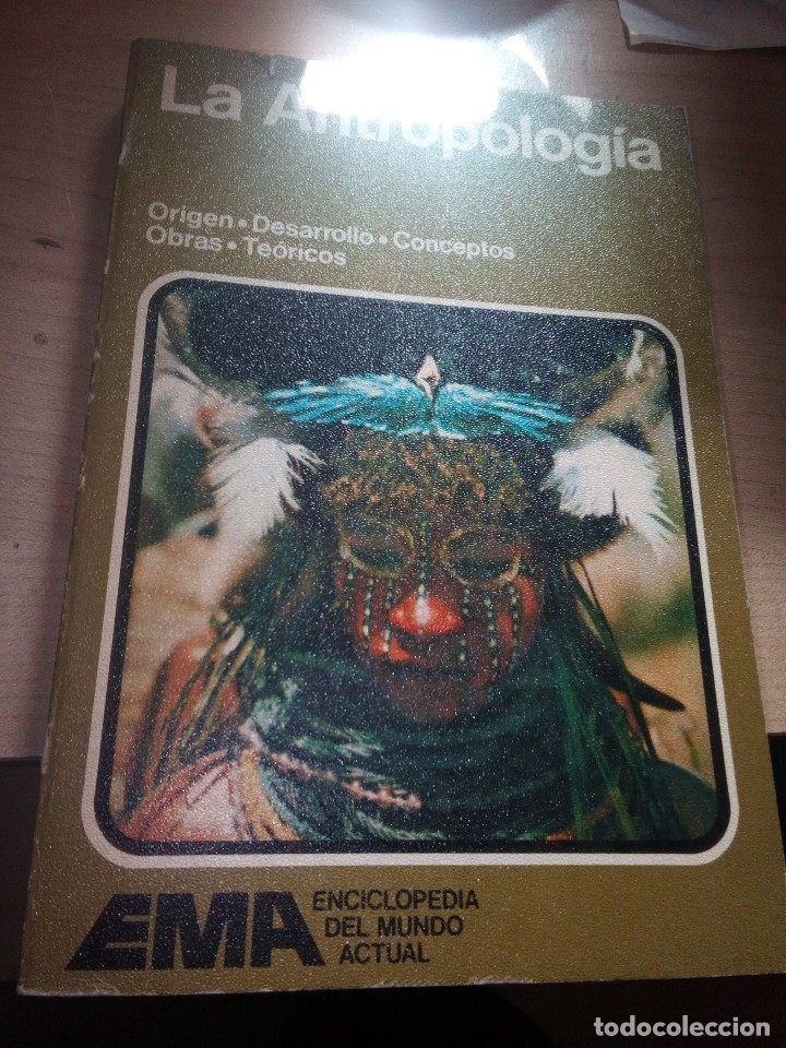 LA ANTROPOLOGÍA. EMA. EDITORIAL NOGUER. 1977 BUEN ESTADO GENERAL PRIMERA EDICIÓN RÚSTICA (Libros de Segunda Mano - Ciencias, Manuales y Oficios - Otros)