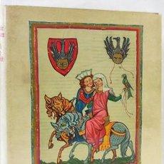 Libros de segunda mano: CANCIONERO DE HEIDELBERG (S. XIV), ¡MÁS DE 100 MINIATURAS A TODA PÁGINA!. Lote 245437385
