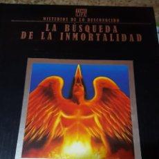 Libros de segunda mano: MISTERIOS DE LO DESCONOCIDO - TIME LIFE - LA BÚSQUEDA DE LA INMORTALIDAD - FOLIO - ED. DEL PRADO. Lote 152483518