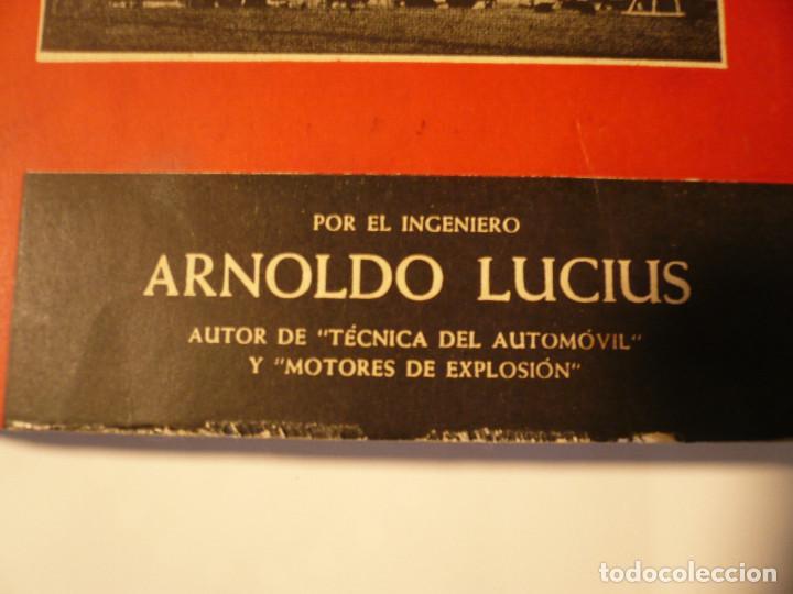 Libros de segunda mano: CURSO BÁSICO DE MOTORES DE AVIACIÓN. ARNOLDO LUCIUS. 1961 - Foto 2 - 152528274