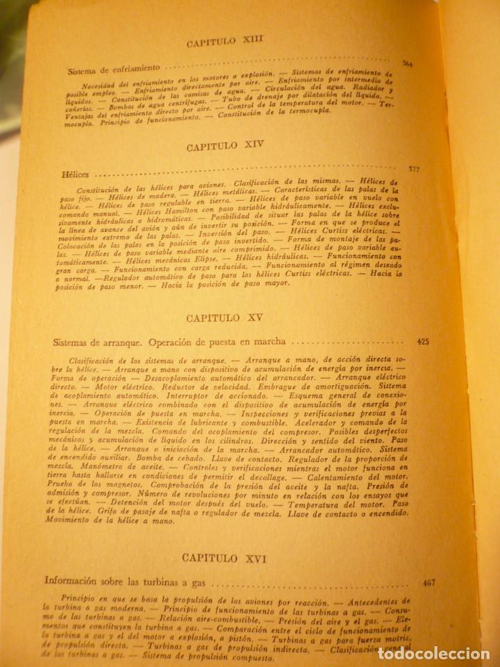 Libros de segunda mano: CURSO BÁSICO DE MOTORES DE AVIACIÓN. ARNOLDO LUCIUS. 1961 - Foto 6 - 152528274