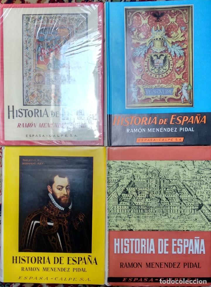 Libros de segunda mano: Historia de España de Ramón Menéndez Pidal. Lote de 7 volúmenes o por volúmenes sueltos - Foto 2 - 173161863