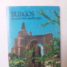 Libros de segunda mano: BURGOS HISTORIA ARTE MEDIEVAL . BURGOS MONASTERIOS MEDIEVALES FRAY VALENTÍN DE LA CRUZ 1980. Lote 152533238