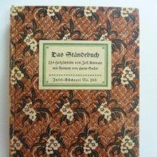 Libros de segunda mano: DAS STANDEBUCH (ESTÁ EN ALEMÁN) BASTANTE ILUSTRADO . Lote 152537294