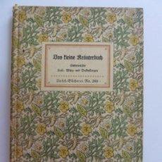 Libros de segunda mano: DAS KLEINE KRAUTERBUCH(ESTÁ EN ALEMÁN) BASTANTE ILUSTRADO . Lote 152537382