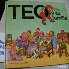 Libros de segunda mano: TEO Y SU FAMILIA. Lote 152540218