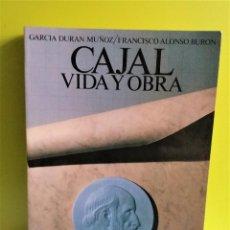Libros de segunda mano: CAJAL. VIDA Y OBRA. - BARCELONA, ED. CIENTÍFICO-MÉDICA. Lote 152540342