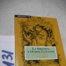 Libros de segunda mano: LA SIRENITA Y OTROS CUENTOS - ANDERSEN - ENVIO INCLUIDO A ESPAÑA. Lote 152541254