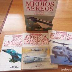 Libros de segunda mano: ARMAMENTO Y LOGÍSTICA. MEDIOS AÉREOS. Lote 152542718