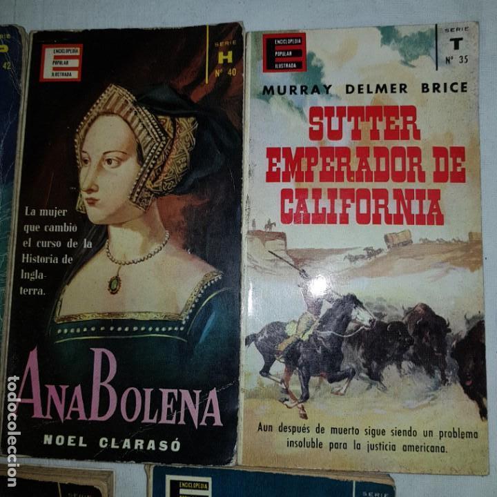 Libros de segunda mano: LOTE 9 NUMEROS ENCICLOPEDIA POPULAR ILUSTRADA - Foto 4 - 152557626