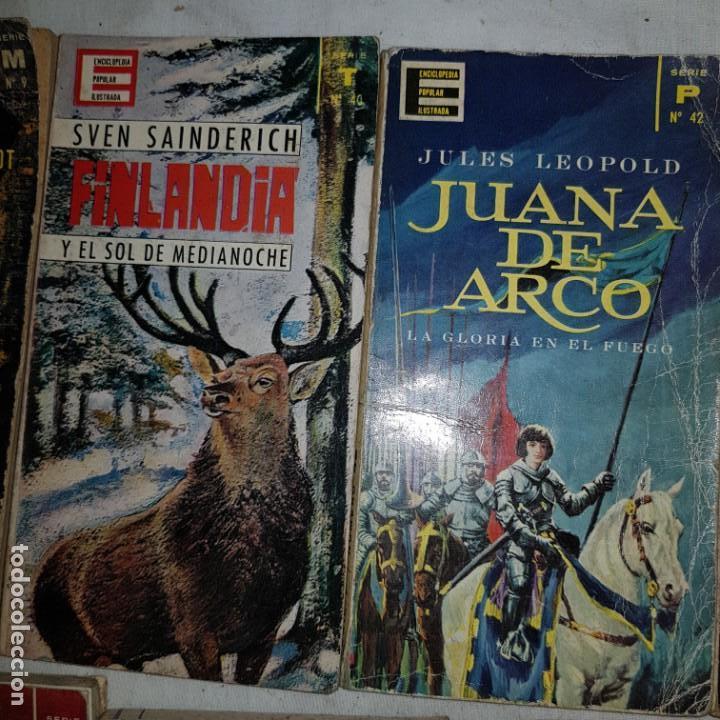 Libros de segunda mano: LOTE 9 NUMEROS ENCICLOPEDIA POPULAR ILUSTRADA - Foto 5 - 152557626
