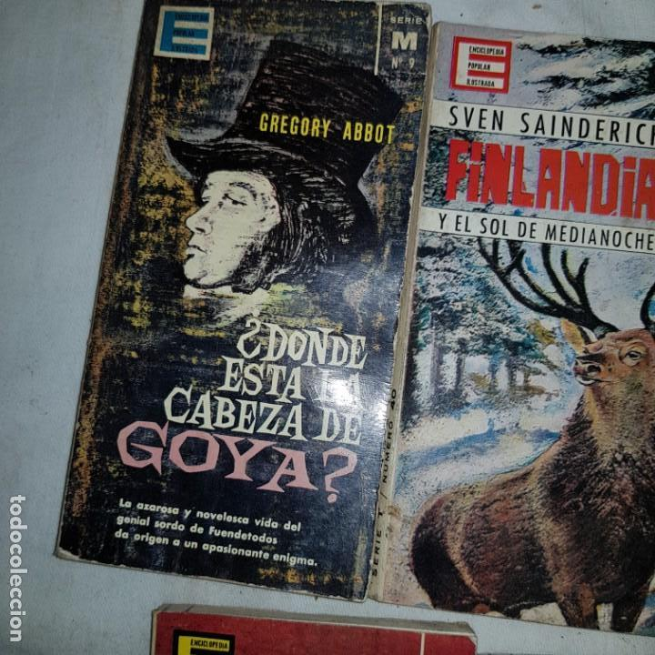 Libros de segunda mano: LOTE 9 NUMEROS ENCICLOPEDIA POPULAR ILUSTRADA - Foto 6 - 152557626