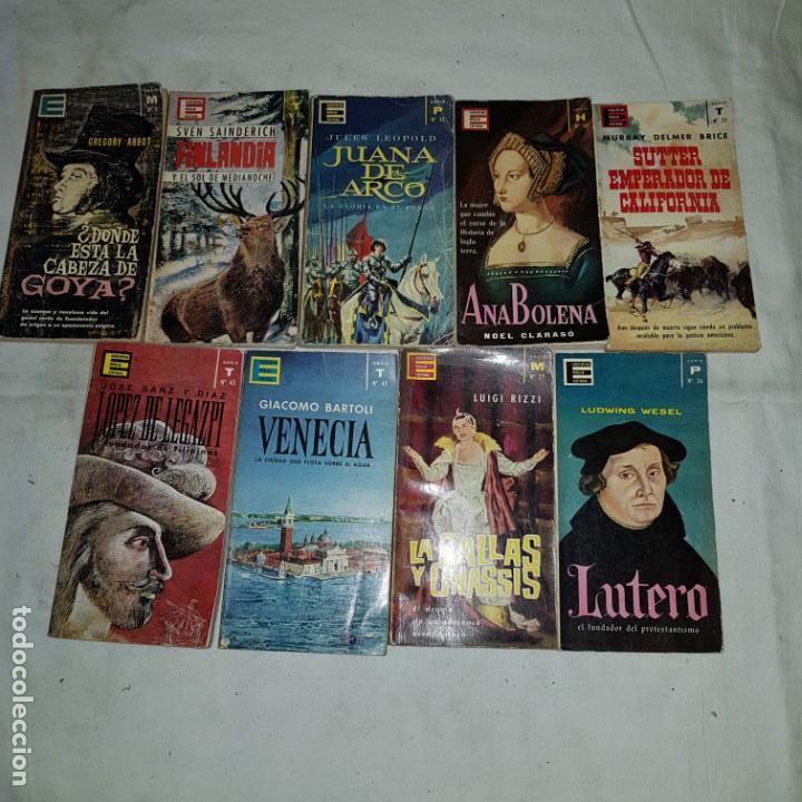 LOTE 9 NUMEROS ENCICLOPEDIA POPULAR ILUSTRADA (Libros de Segunda Mano (posteriores a 1936) - Literatura - Otros)