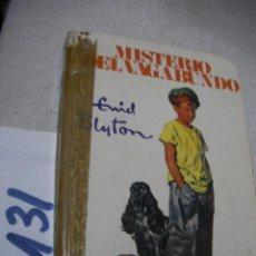 Libros de segunda mano: MISTERIO DEL VAGABUNDO - ENID BLYTON. Lote 152570926