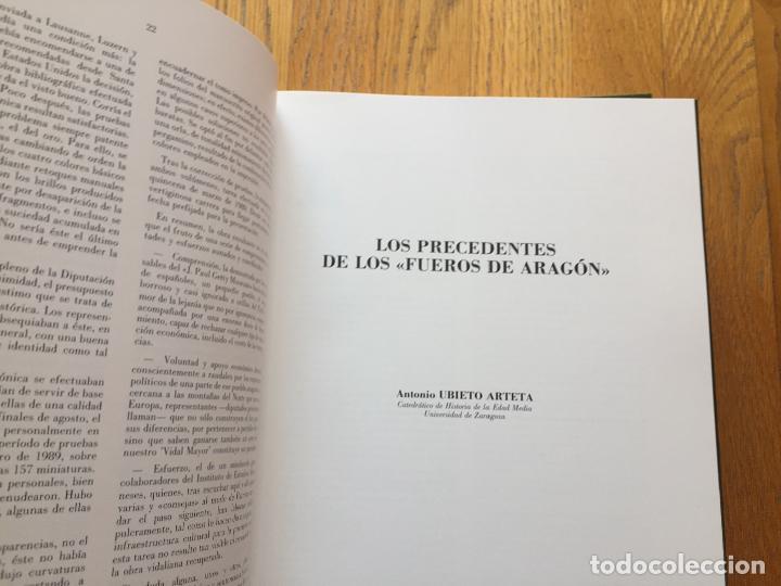 Libros de segunda mano: VIDAL MAYOR 2 TOMOS, FACSIMIL OBRA SIGLO XIII. FUEROS DE ARAGON - Foto 2 - 152610946