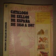 Libros de segunda mano: CATÁLOGO DE SELLOS DE ESPAÑA DE 1850 A 1987 FILABO. Lote 152718722