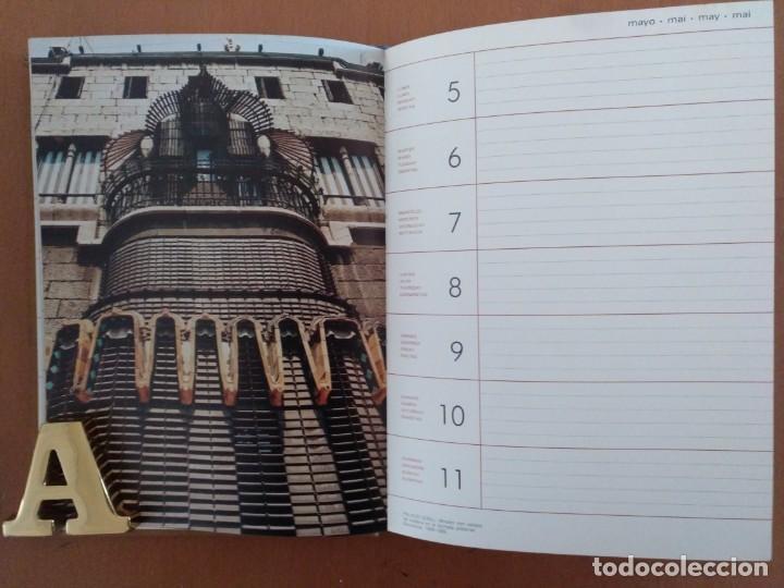 Libros de segunda mano: AGENDA DE ARTE GAUDI 1986 EDITORIAL REVERTE BARCELONA - Foto 3 - 152723542