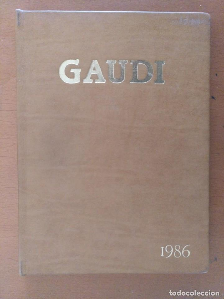 Libros de segunda mano: AGENDA DE ARTE GAUDI 1986 EDITORIAL REVERTE BARCELONA - Foto 4 - 152723542