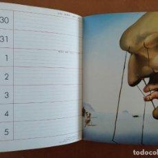 Libros de segunda mano: AGENDA DE ARTE DALI 1984 EDITORIAL REVERTE BARCELONA . Lote 152723662