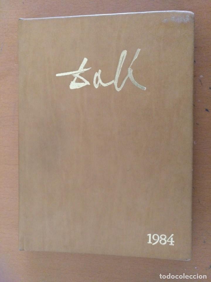Libros de segunda mano: AGENDA DE ARTE DALI 1984 EDITORIAL REVERTE BARCELONA - Foto 2 - 152723662