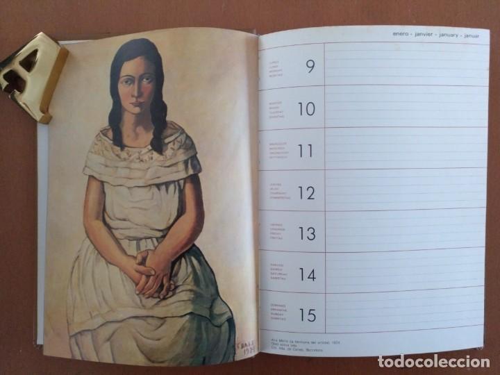 Libros de segunda mano: AGENDA DE ARTE DALI 1984 EDITORIAL REVERTE BARCELONA - Foto 4 - 152723662