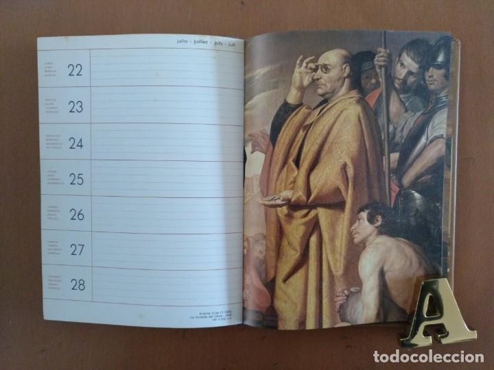 Libros de segunda mano: AGENDA DE ARTE PINTORES ESPAÑOLES DEL SIGLO DE ORO EN EL MUSEO DEL PRADO BARCELONA 1985 - Foto 3 - 152723806