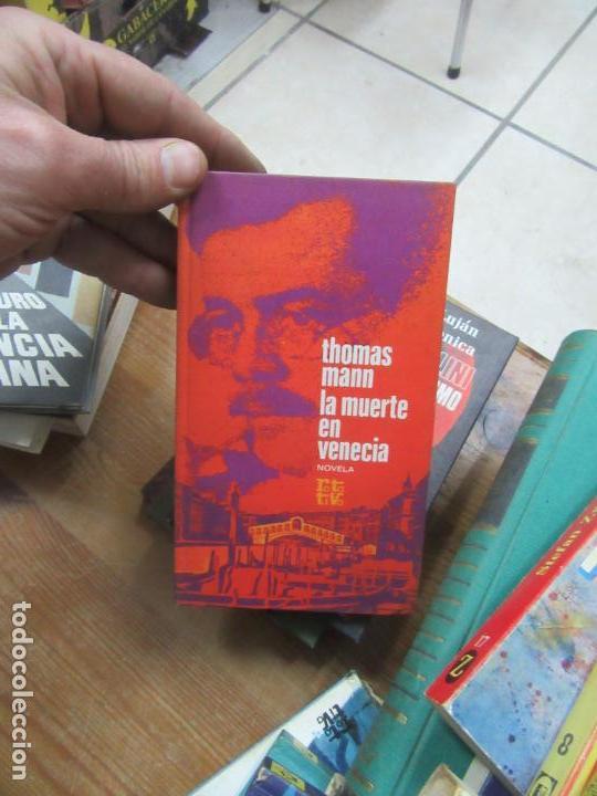 LIBRO LA MUERTE EN VENECIA THOMAS MANN 1971 PLAZA Y JANES L-19115 (Libros de Segunda Mano (posteriores a 1936) - Literatura - Otros)