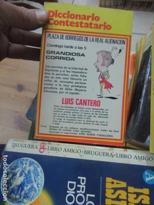 LIBRO DICCIONARIO CONTESTATARIO LUIS CANTERO 1973 ED. MARTE (Libros de Segunda Mano (posteriores a 1936) - Literatura - Otros)