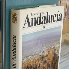 Libros de segunda mano: LMV - HISTORIA DE ANDALUCIA, TOMO IV. LA ANDALUCIA DEL RENACIMIENTO. Lote 152803162