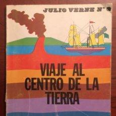 Libros de segunda mano: JULIO VERNE N°3, VIAJE AL CENTRO DE LA TIERRA, 1974. Lote 152817446