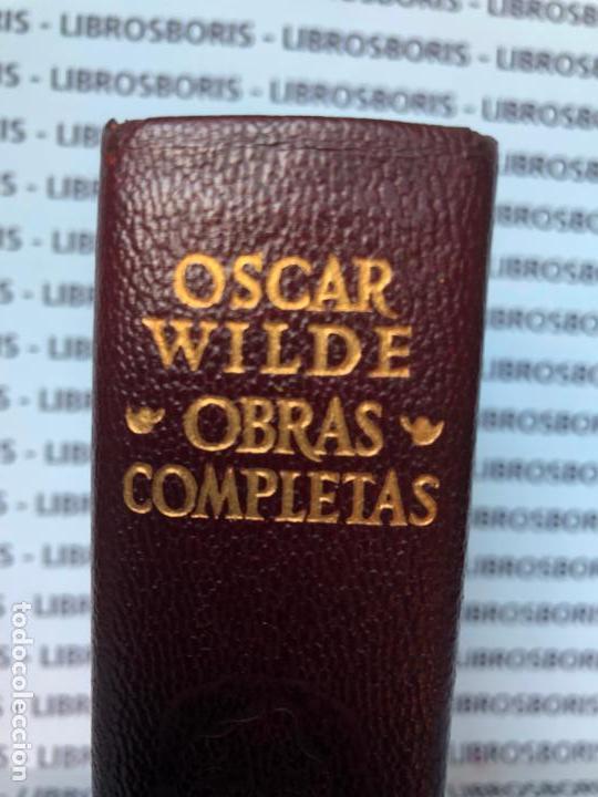Libros de segunda mano: OSCAR WILDE - OBRAS COMPLETAS - AGUILAR - OBRAS ETERNAS - Foto 2 - 152818670