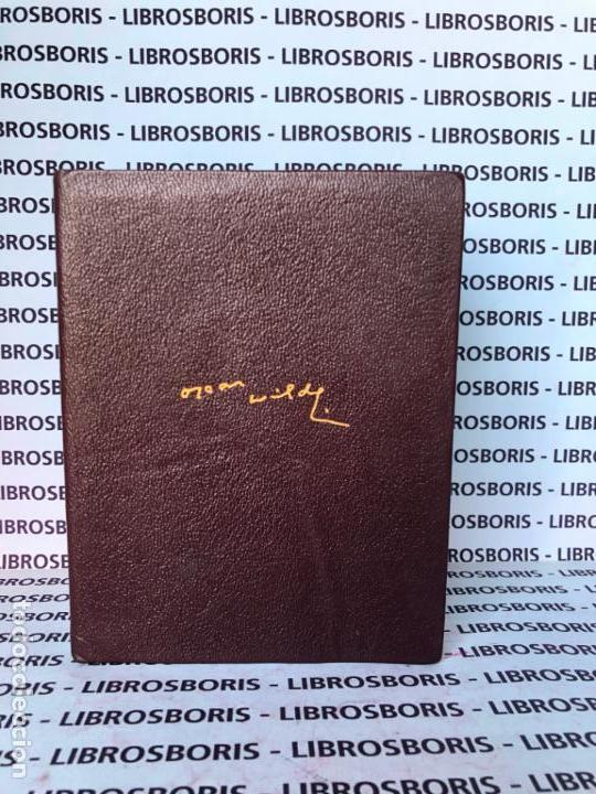 Libros de segunda mano: OSCAR WILDE - OBRAS COMPLETAS - AGUILAR - OBRAS ETERNAS - Foto 3 - 152818670