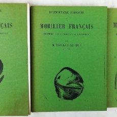 Libros de segunda mano: 3VOL. DICCIONARIO R. DE MUEBLES FRANCESES DE LA ERA CAROLINGIANA AL RENACIMIENTO M. VIOLLET-LE-DUC. Lote 151710246