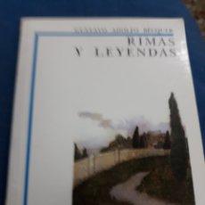 Libros de segunda mano: LIBRO: NÚM. 3 RIMAS Y LEYENDAS.- GUSTAVO ADOLFO BECQUER.- ANAYA-. Lote 152876648