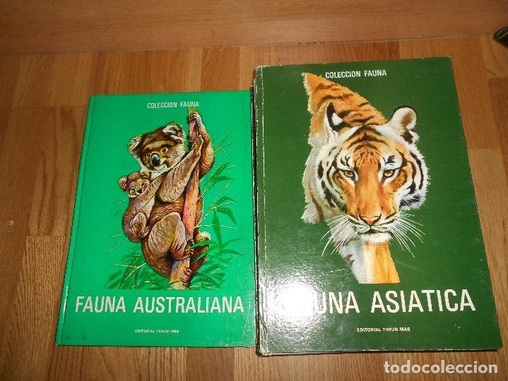Libros de segunda mano: COLECCIÓN FAUNA DE MUNDO POR CONTINENTES 5 TOMOS EDITORIAL TIMUN MAS 1970 BUEN ESTADO - Foto 5 - 220728457