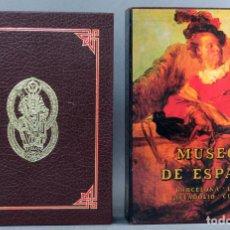 Libros de segunda mano: MUSEOS DE ESPAÑA BARCELONA LEÓN VALLADOLID CUENCA EDITORIAL EVEREST 1984. Lote 152906430