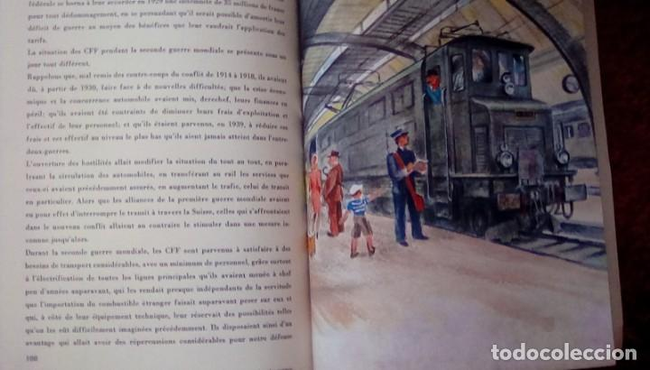 Libros de segunda mano: Le centenaire des chemins de fer suisses. 1947 - Foto 4 - 153113746