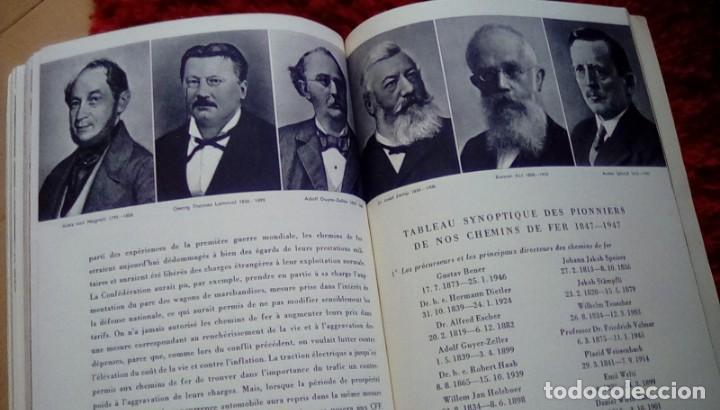 Libros de segunda mano: Le centenaire des chemins de fer suisses. 1947 - Foto 6 - 153113746