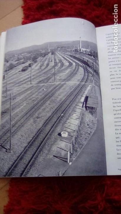Libros de segunda mano: Le centenaire des chemins de fer suisses. 1947 - Foto 7 - 153113746