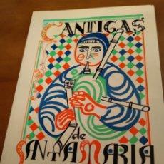 Libros de segunda mano: CANTIGAS DE SANTA MARÍA. Lote 153124598