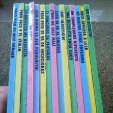 Libros de segunda mano: BARRIO SESAMO -- LIBROS DEL 1 AL 15 -- RBA 2000 -- . Lote 165352860