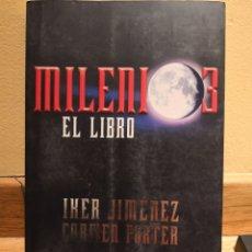 Libros de segunda mano: MILENIO 3 EL LIBRO IKER JIMÉNEZ. Lote 153145053