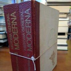 Libros de segunda mano: HISTORIA GENERAL MODERNA.. Lote 153227662