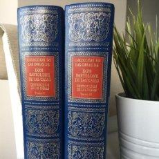 Libros de segunda mano: COLECCION DE OBRAS DON BARTOLOME DE LAS CASAS DESTRUCCIÓN DE LAS INDIAS AMIGOS CIRCULO BIBLIOFILO. Lote 180105275