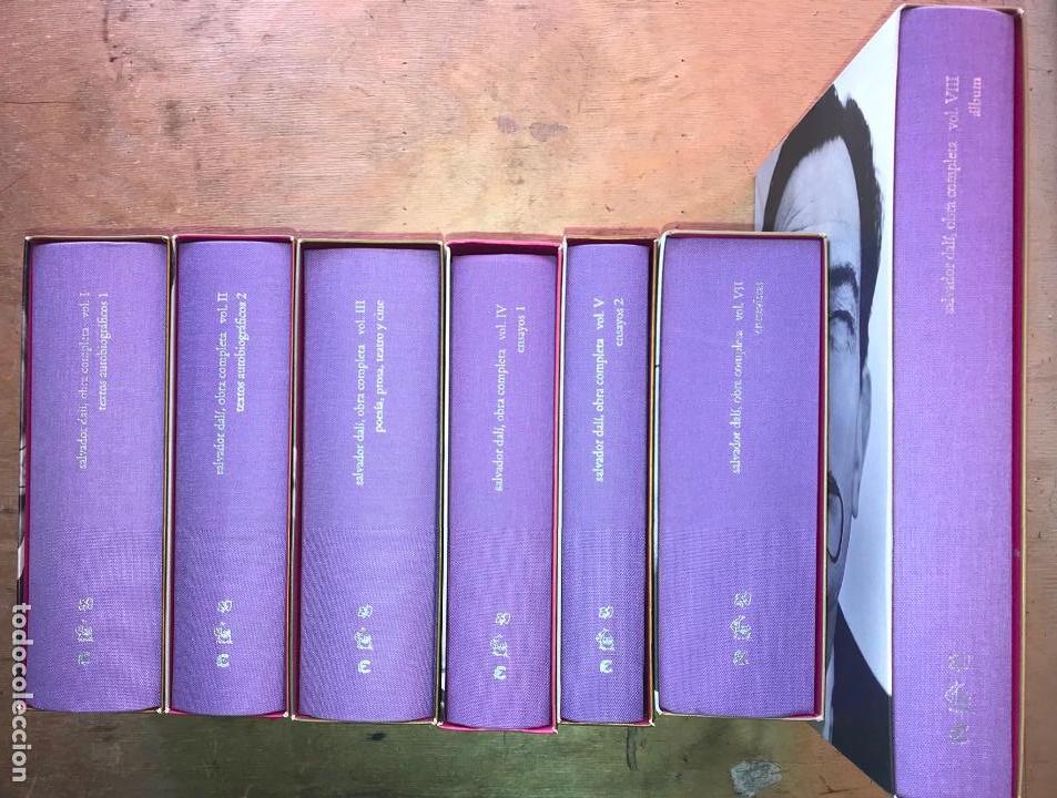 SALVADOR DALÍ, OBRA COMPLETA. VOL. 1,2,3,4,5,7 Y 8. (OBRA COMPLETA, EL VOL. 6 NUNCA SE EDITÓ). (Libros de Segunda Mano - Bellas artes, ocio y coleccionismo - Otros)