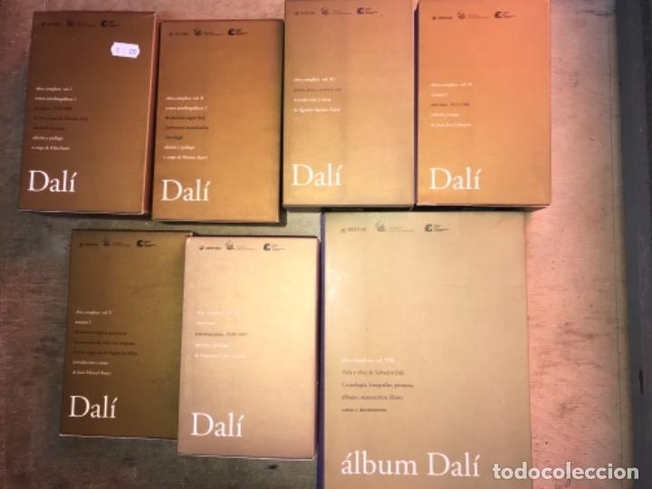 Libros de segunda mano: SALVADOR DALÍ, OBRA COMPLETA. VOL. 1,2,3,4,5,7 y 8. (OBRA COMPLETA, EL VOL. 6 NUNCA SE EDITÓ). - Foto 3 - 153326978