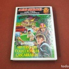 Libros de segunda mano: MISTERIO DEL COLECCIONISTA CASCARRABIAS - ALFRED HITCHCOCK Y LOS TRES INVESTIGADORES - JU7. Lote 153428338